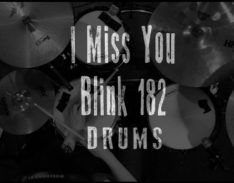 i miss you drums cover lesson