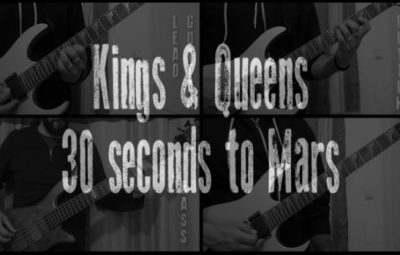 kings and queens 30 seconds to mars cover lesson