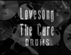 lovesong drums cover lesson
