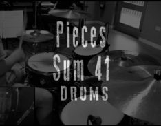 pieces drums cover lesson