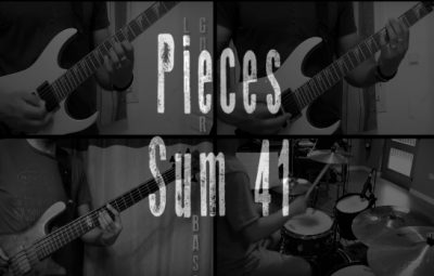 pieces full band cover