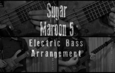 sugar electric bass lesson