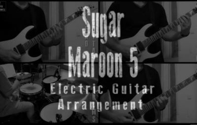 sugar guitar arrangement cover lesson