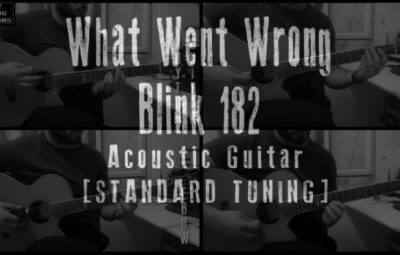 what went wrong acoustic cover lesson