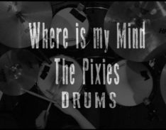 where is my mind drums cover lesson video