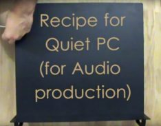 Recipe for Quiet PC (for Music Production)